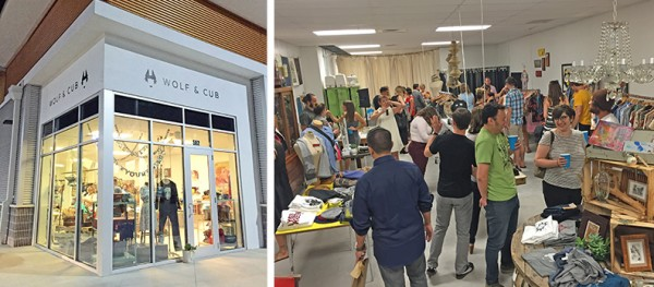 Wolf & Cub opened its pop-up shop at Brooklyn Station on Riverside November 7