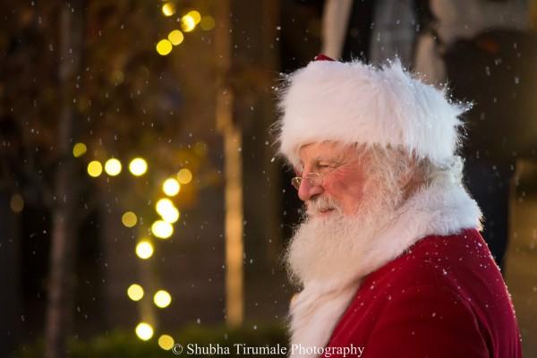 photo of Santa Claus from Shubha Tirumale Photography