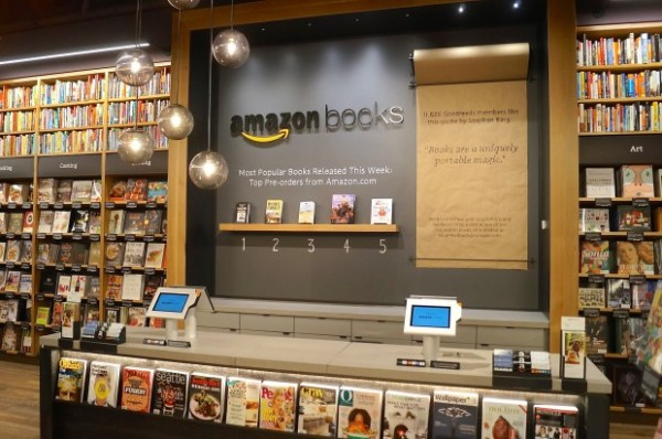 Amazons first retail store
