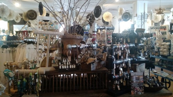 inside of rose and remington with a large variety of jewelry on display