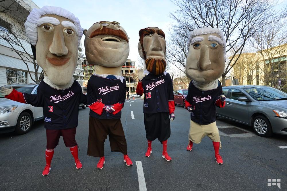 Nats Running Mascots