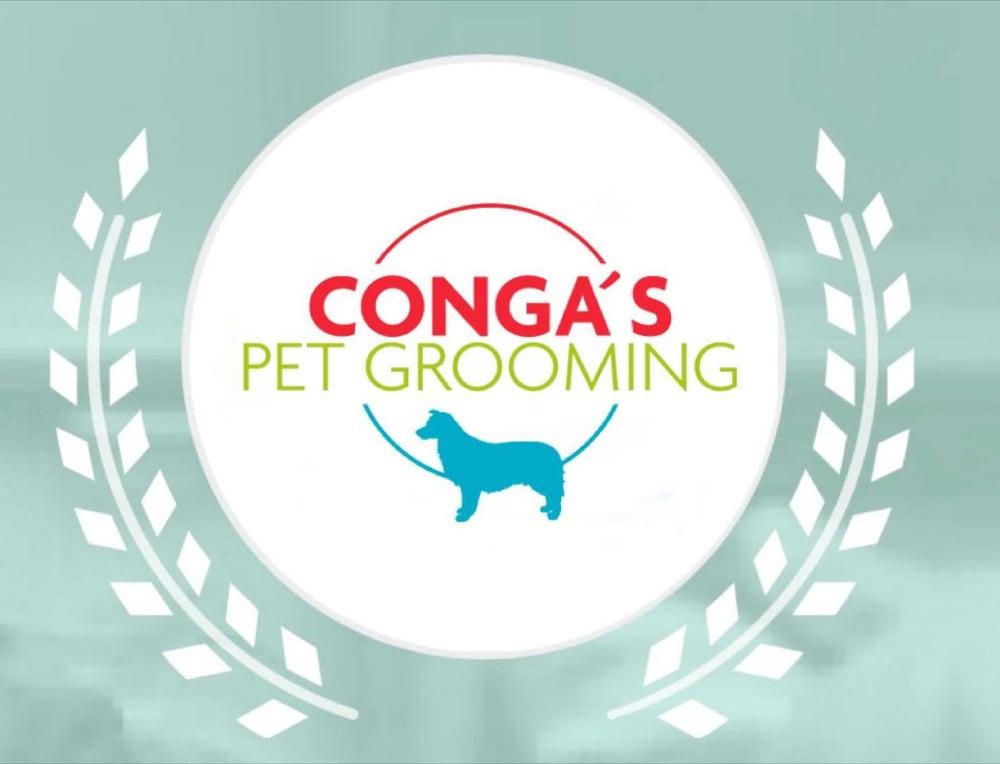 congas-pet-grooming-logo