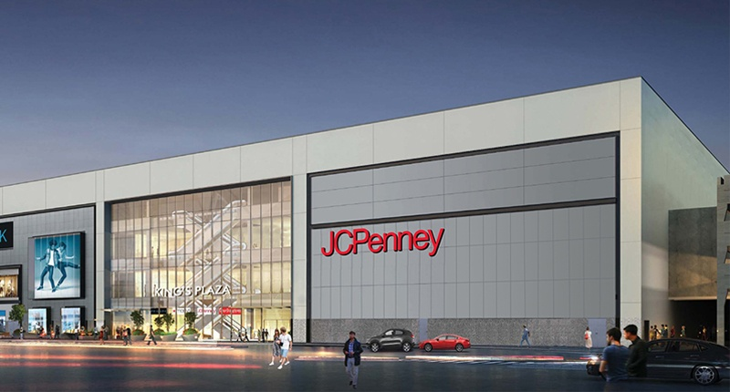 JCPenney storefront in Brooklyn