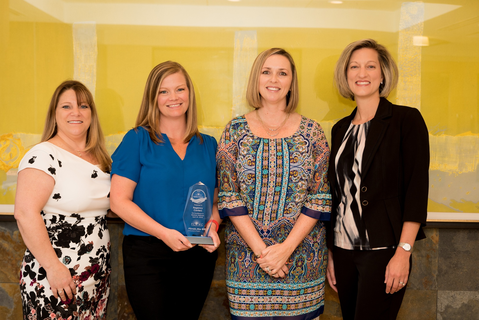 HR partners (L to R): Cathy Antonucci, Reese Dowell, Amy D'Olimpio, Jamie Conroy