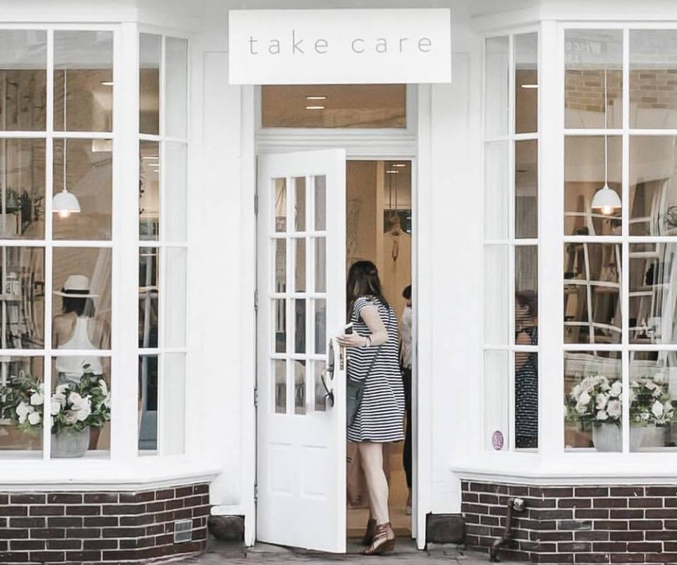 Take Care storefront