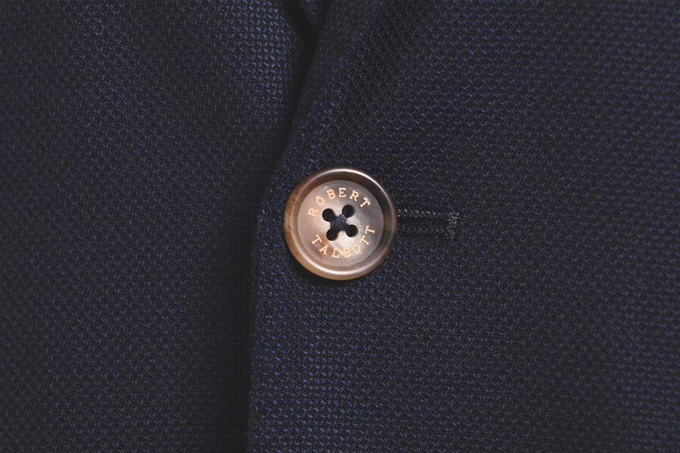 Robert Talbott Suit Button
