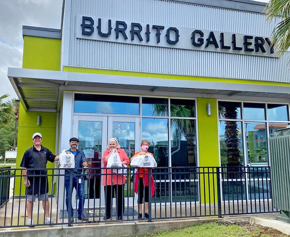 Burrito Gallery Regency team members