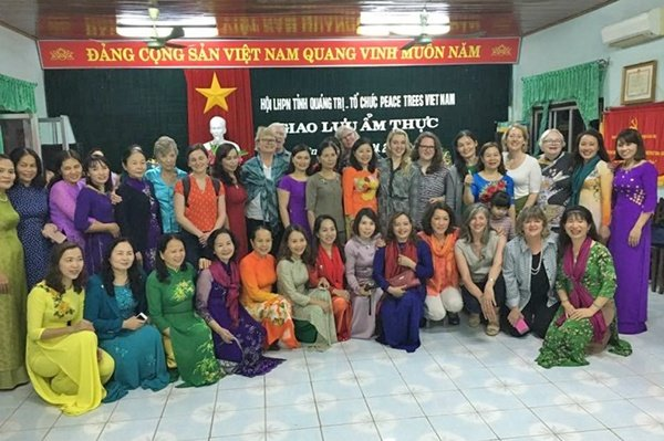 Chef Thoa at the Vietnam Women's Union