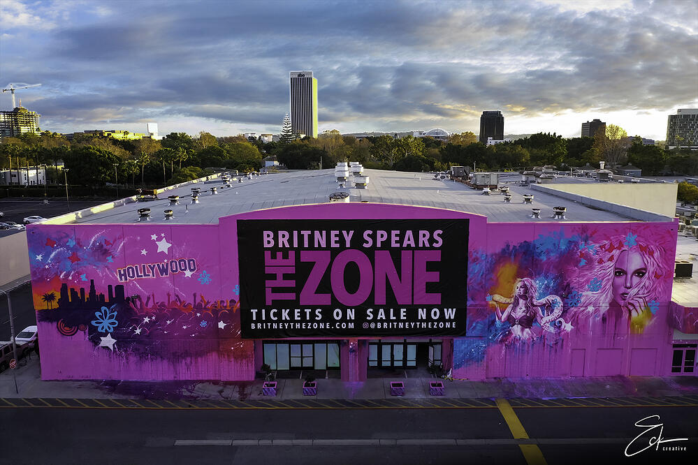 Britney Spears The Zone Exterior