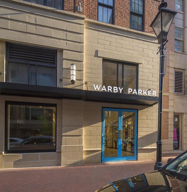 Warby Parker Baltimore storefront