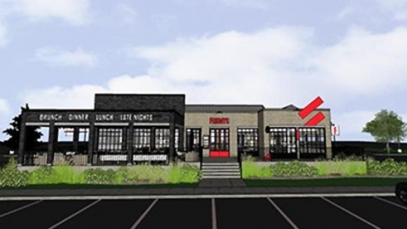 rendering of TGI Fridays in Texas