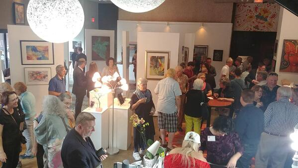 opening event for Gallery Clarendon