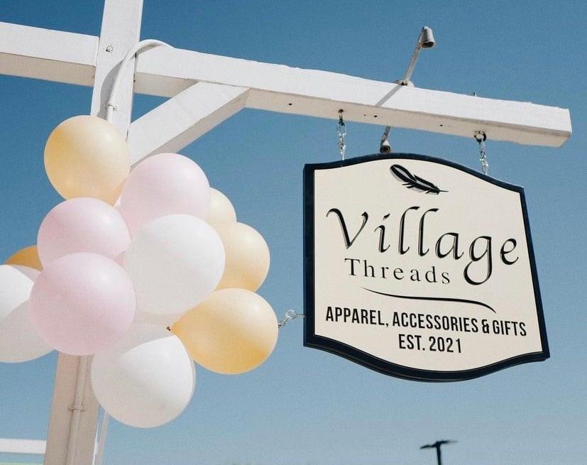 village-threads-dunwoody-sign