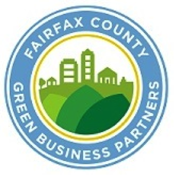 Fairfax County Green Business Partners logo.
