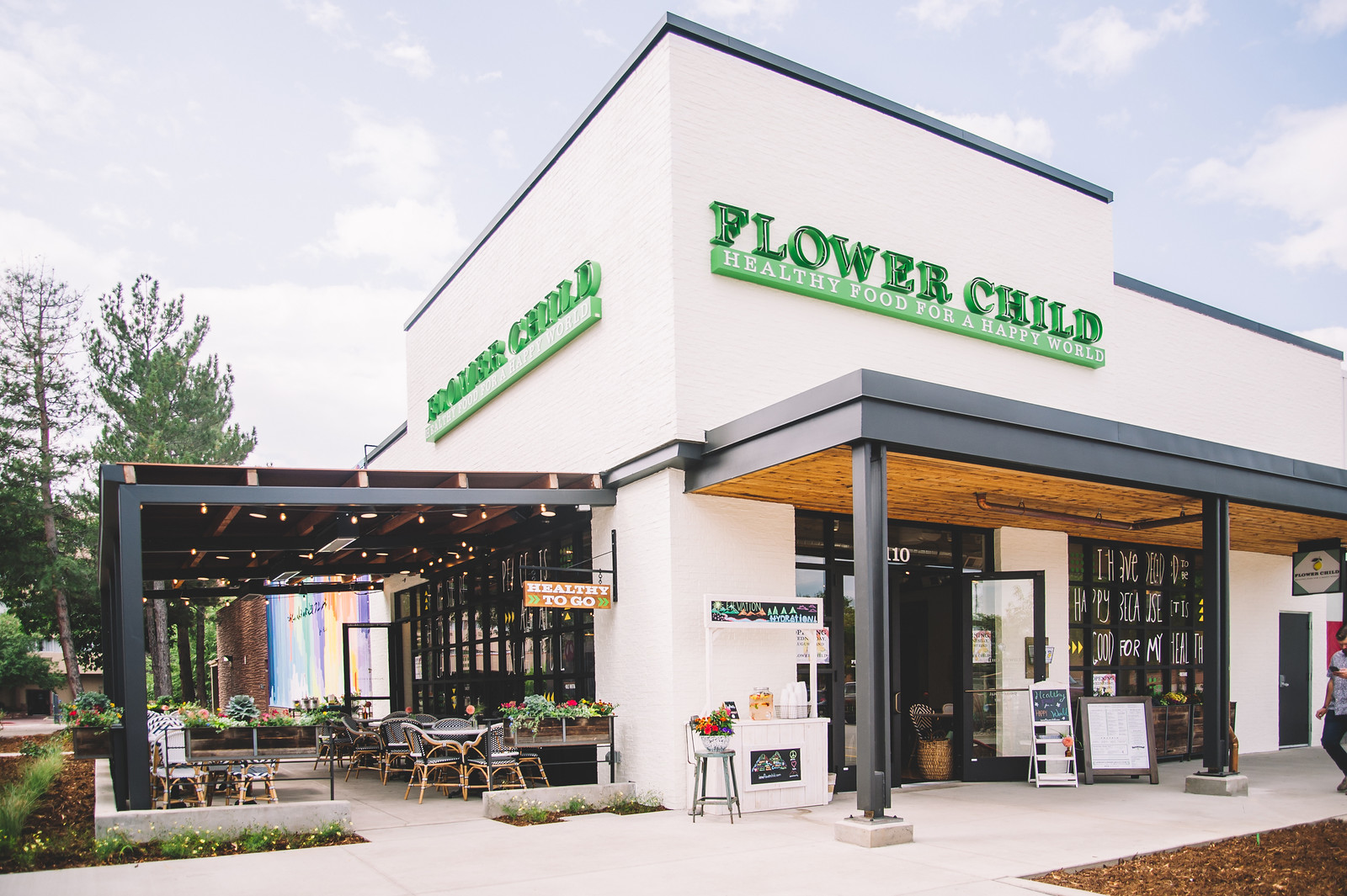 Flower Child food storefront