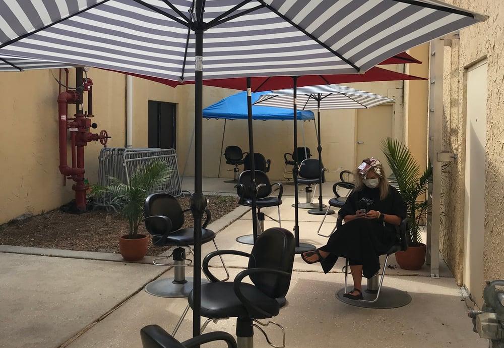 Shear Art Salon & Spa Courtyard