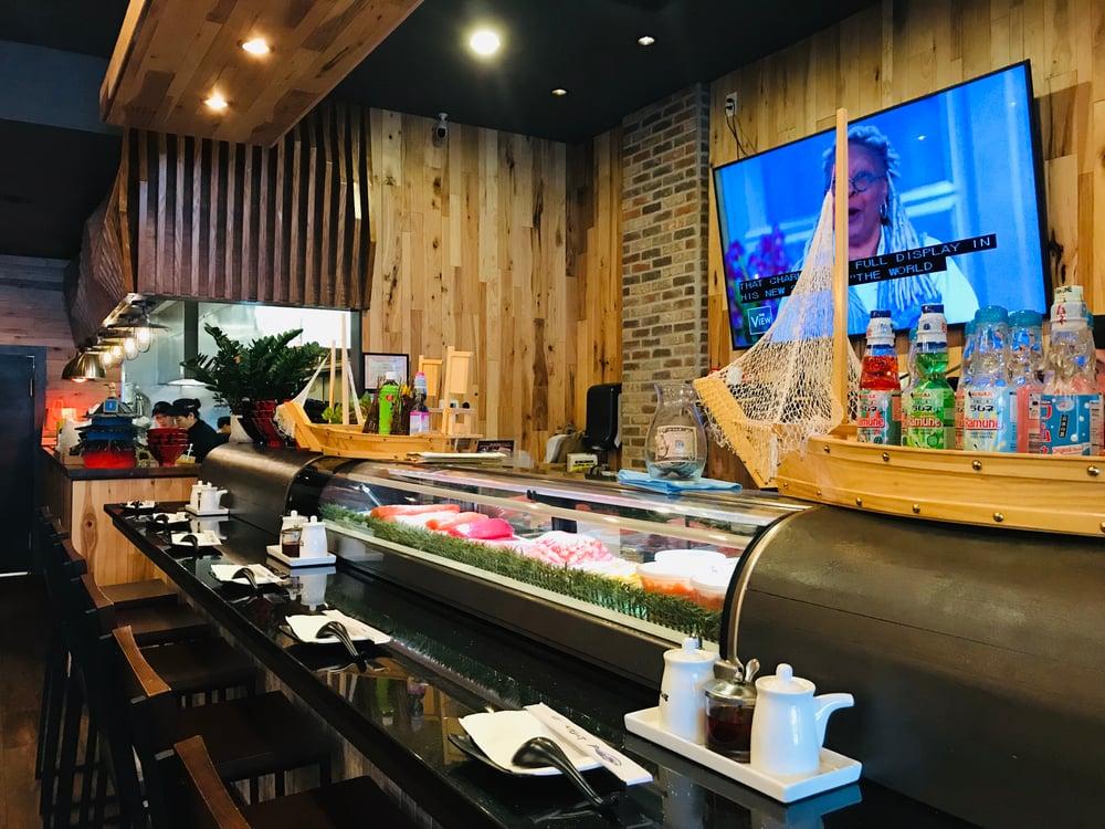 Hakata Sushi Bar Area
