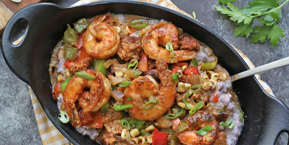 Lazy Dog Skillet Shrimp