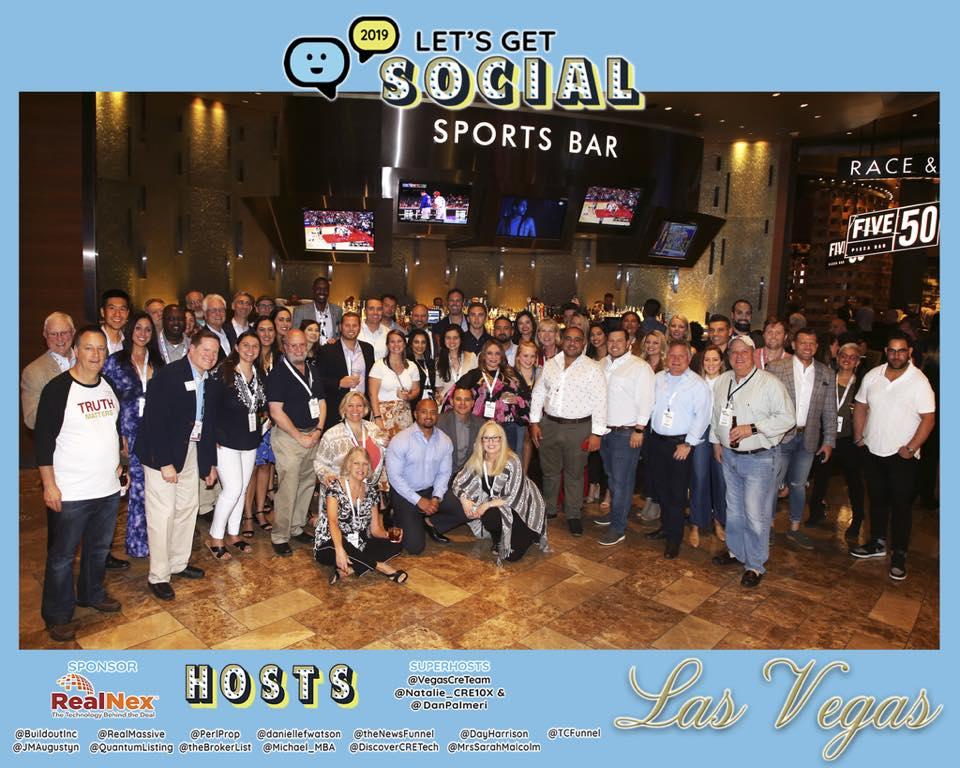 Lets Get Social 2019 promotional poster