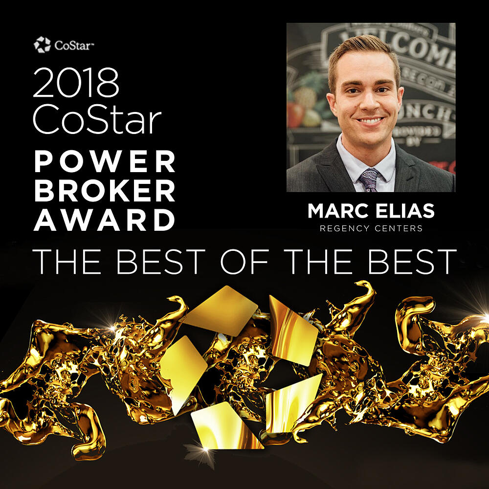 Marc Elias Broker Award for 2018 CoStar