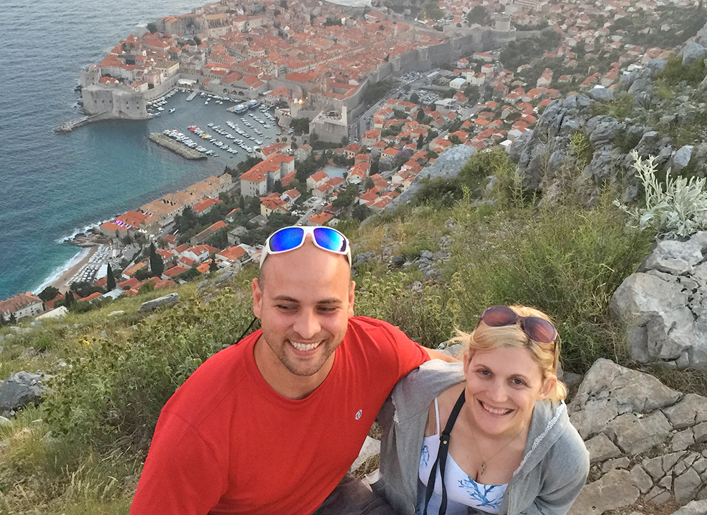 Nolan Clark and Susan Novak in Croatia