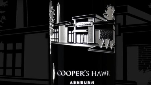 Coopers' Hawk Ashburn signage.