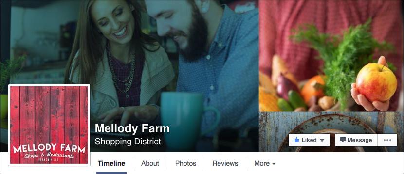 Mellody Farm facebook page screenshot
