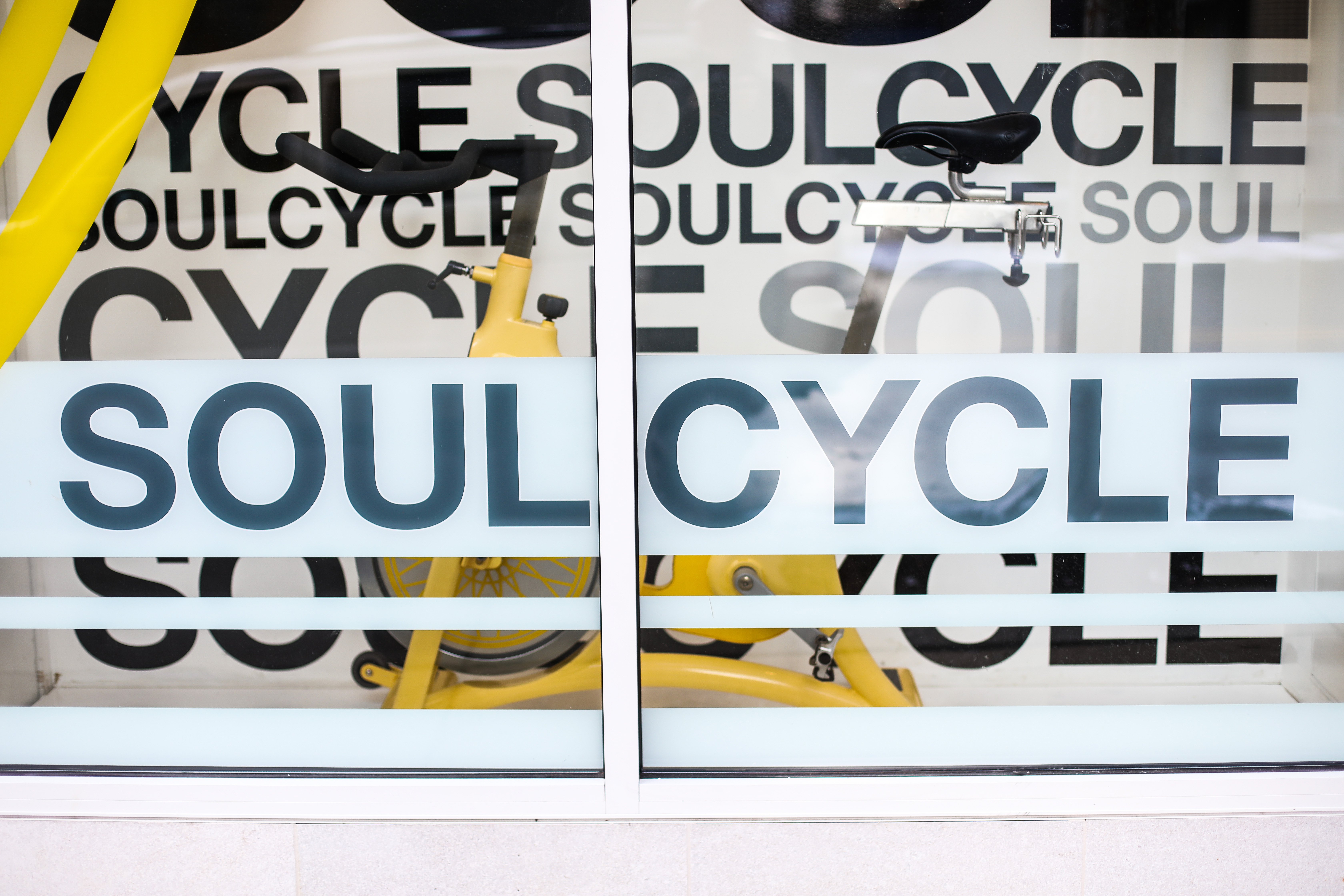 Outside of SoulCycle studio