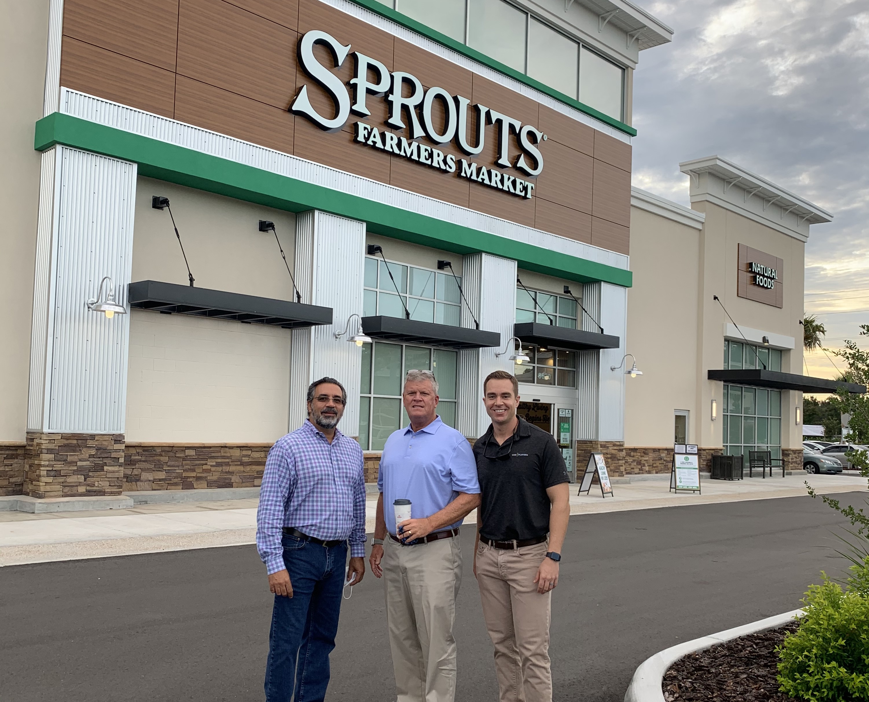 Sprouts Opening - Jose, Mike, Marc