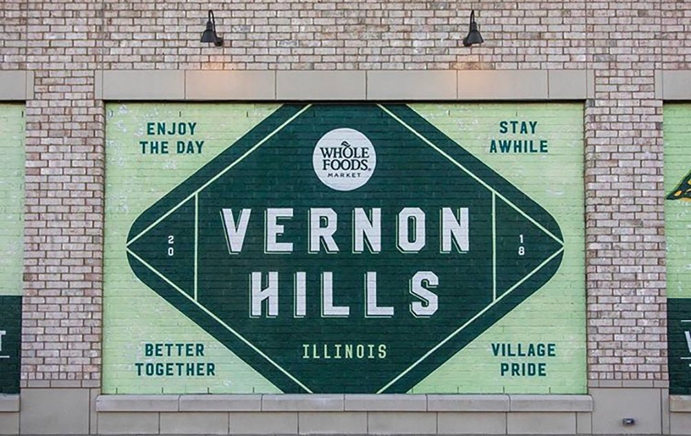 Vernon Hills Mellody Farm Whole Foods wall art