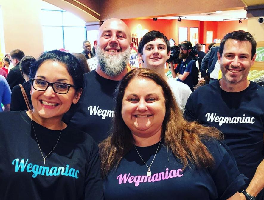 Wegmaniacs custom t-shirts
