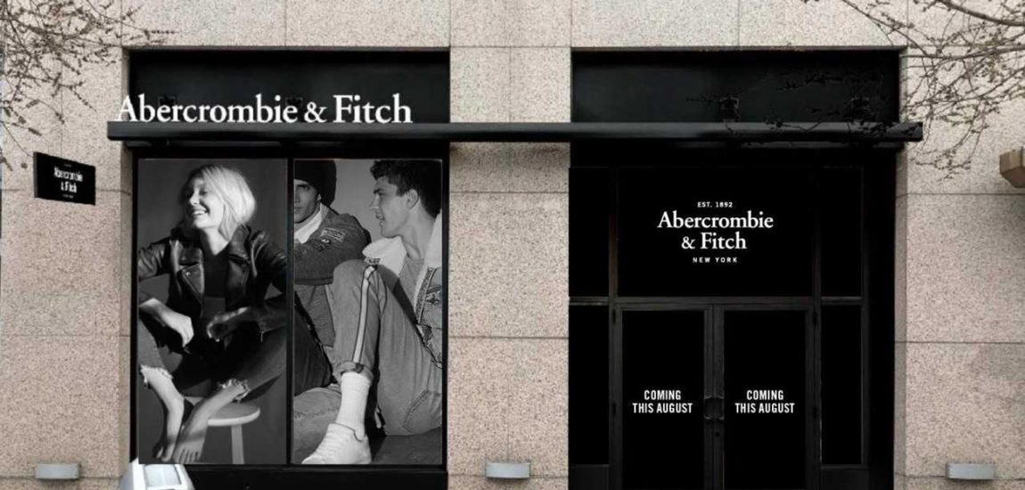 Abercrombie and Fitch storefront