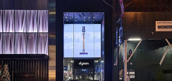 Dyson flagship store.