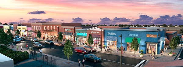 rendering of Carytown Exchange