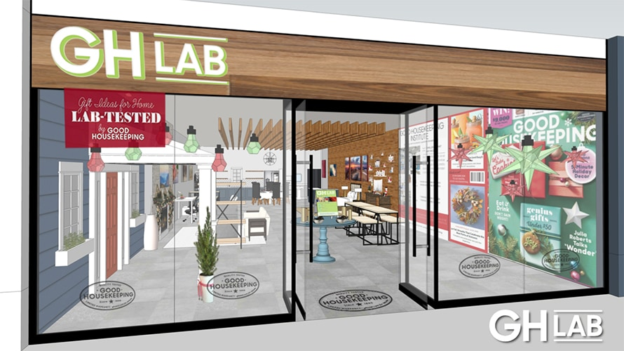 rendering of GH Lab concept