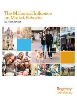 "White Paper cover for ""The Millennial Influence on Market Behavior"""