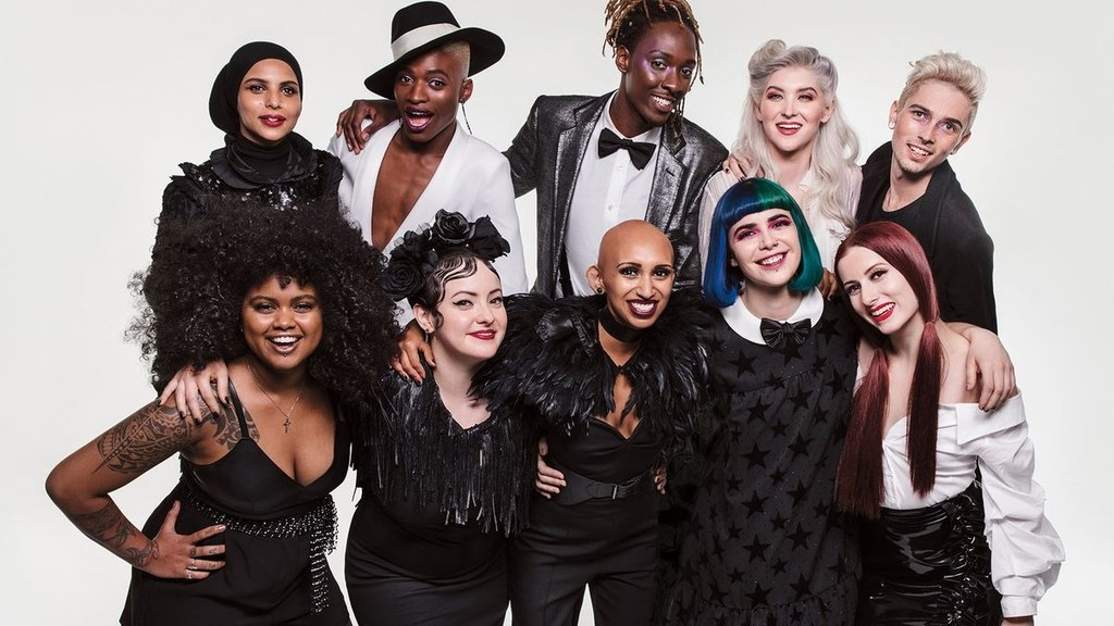 Sephora staff photo featuring 10 employees of all ages and races