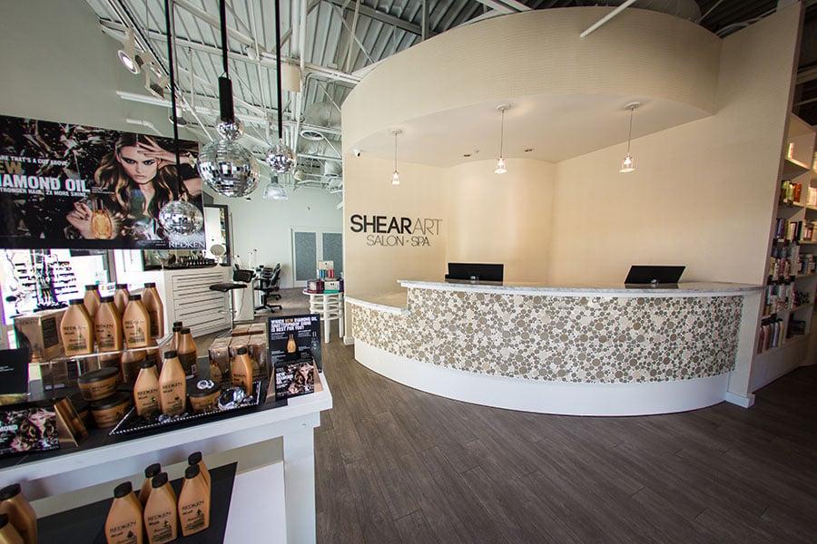 Shear Art Salon & Spa Entry