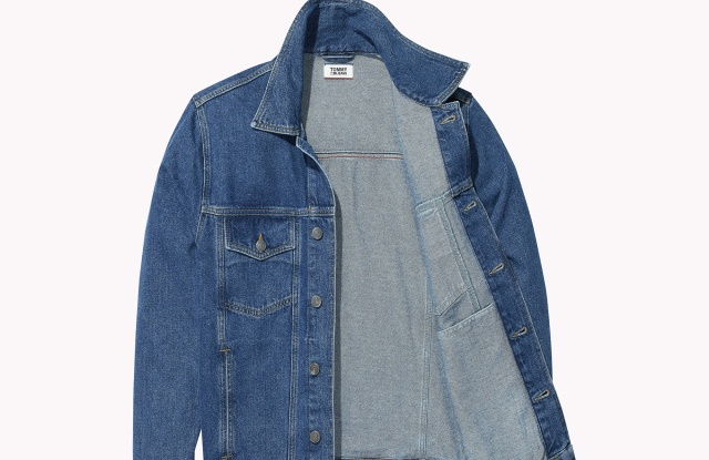 jean jacket from Tommy Hilfger