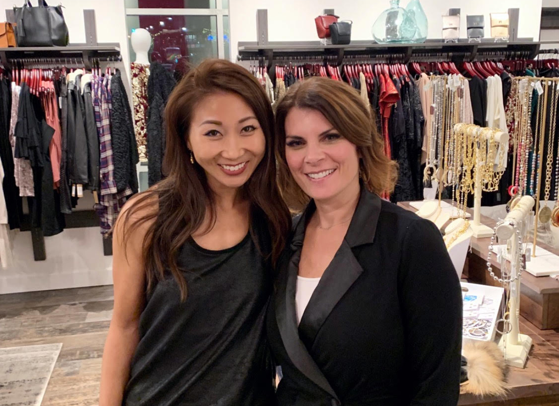 Kelly Su and Michelle Bowers in their store