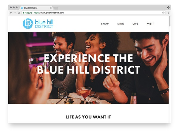 Blue Hill District website